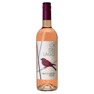 rose ca del lago pinot grigo wine supplier dorset